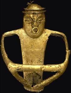 El museo del oro de Bogotá cuenta con muchas piezas de oro Muiscas